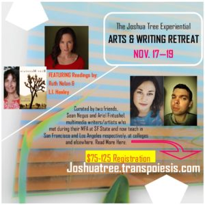 featuring readings by l.i. henley and ruth nolan